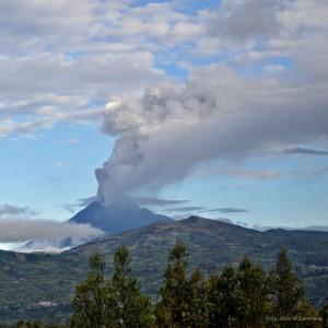 Der Vulkan Tungurahua