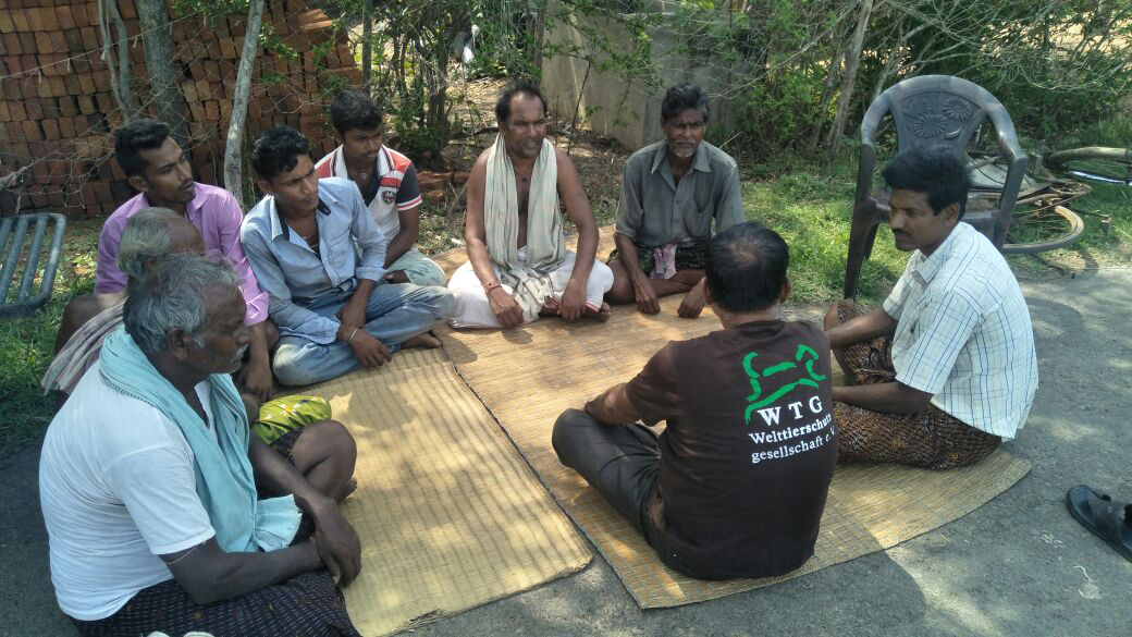Mobile verterinary services in rural areas of Odisha