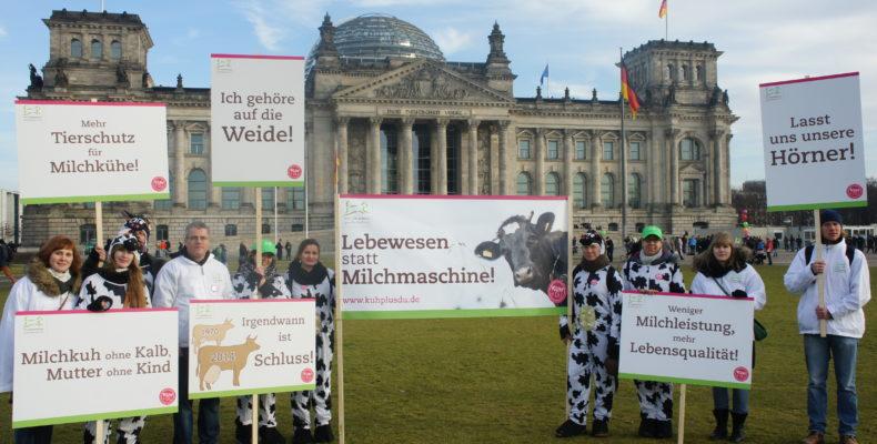 """Welttierschutzgesellschaft auf Agrardemo """"Wir haben es satt"""""""