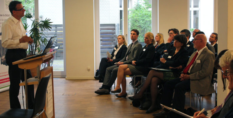 Teilnehmer des Parlamentarischen Abends