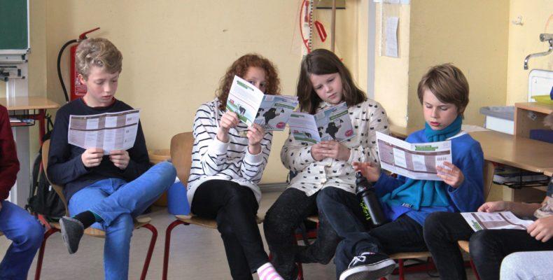 Lernset im Einsatz in einer Schulklasse
