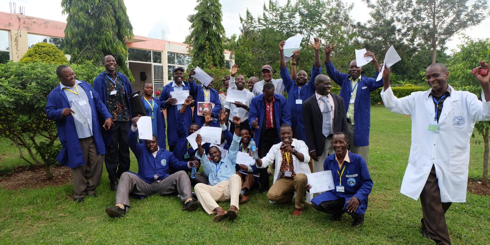 Fortbildungsprogramm in Uganda