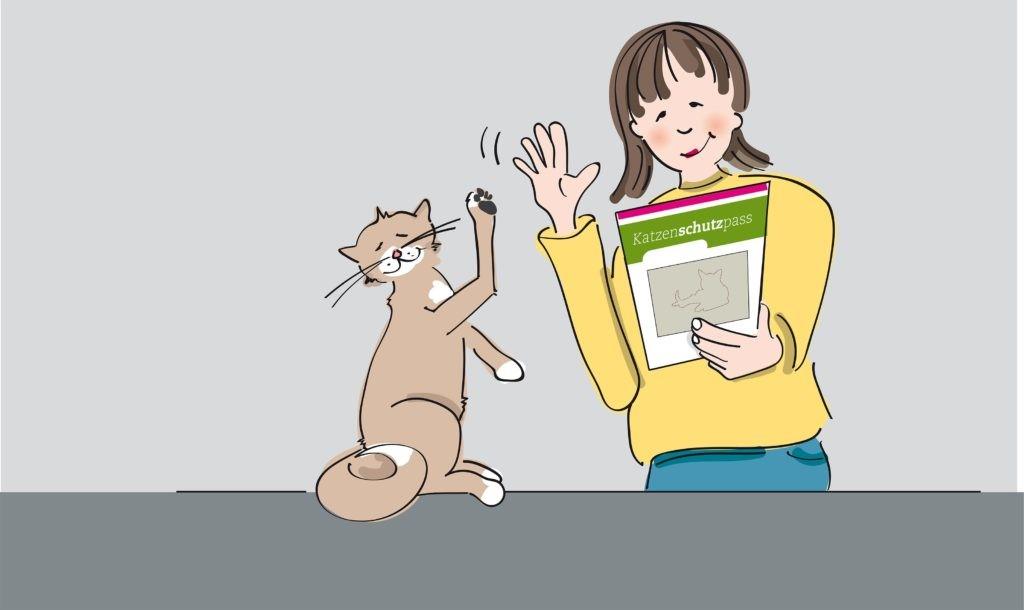 Der individuelle Katzenschutzpass der Welttierschutzgesellschaft