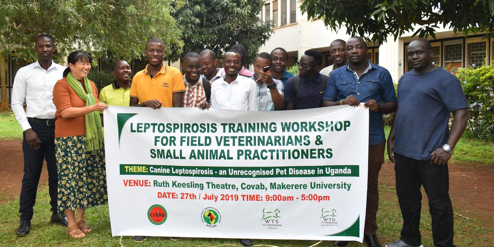 Leptospirose: unbekannt, aber nicht ungefährlich.